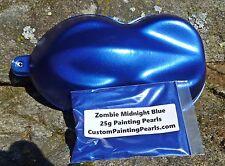 Candy Zombie Midnight Blue Pearl Pigment Auto Grade Lacquer Plasti Dip Gloss HOK