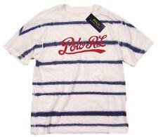 Polo Ralph Lauren Boys White Tie-Dye Crew-Neck Short Sleeve T-Shirt