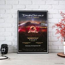 David Gilmour - Live at Pompei 2017 Fine Art Poster Alta Definizione Locandina