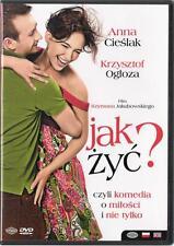 Jak zyc? (DVD) 2008 Anna Cieslak  POLSKI POLISH
