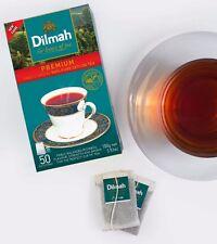 Dilmah Premium Quality 50 Tea Bags Pure Ceylon Tea - Free Shipping .