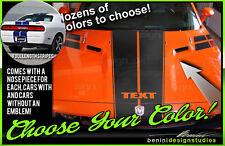 2008 - 2014 Dodge Challenger SXT RT SRT8 Full Set Dual Hood Racing Stripes #22