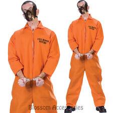 CL109 Cell Block Psycho Cannibal Hannibal Mens Halloween Fancy Dress Costume