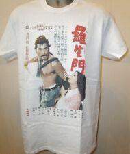 Rashomon AKIRA KUROSAWA Cinema Poster T SHIRT TOSHIRO MIFUNE Samurai Ronin NUOVO 167