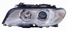 FARO PROIETTORE ANTERIORE SX PER BMW SERIE 3 E46 COUPE 2003 AL XENON CR BI