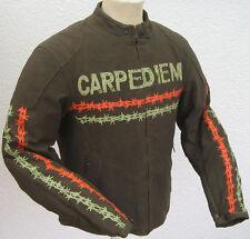 Motorrad Kuzjacke  grüne Textiljacke Tikerjacke Cruiser-Tourer--Scooter-Jacke