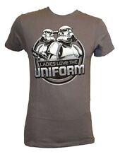 Star Wars Movie Ladies Love The Uniform Licensed Adult T Shirt