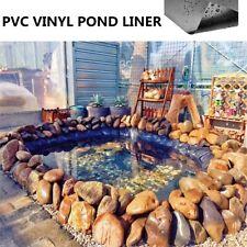 Durable Fish Pond Liners Waterpool Gardens Pools Aquaculture Membrane 2.5-10M