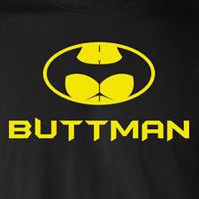 BUTTMAN T-Shirt superhero comic book college humor butt batman robin funny gift