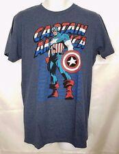 NEW Marvel Men's Captain America TShirt Graphic Tee Avengers Cotton
