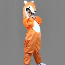 Halloween Party Costumes Children Kids Animal Fox Costume Jumpsuit for Girl Boy