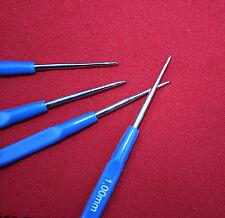 STEEL THREAD CROCHET HOOK LINEN LACE WORK TATTING Dread Lock Maintenance .6-2mm