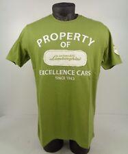NEW GENUINE Lamborghini Automobili 'Property Of' Green T-Shirt XL-3XL D1 LT15
