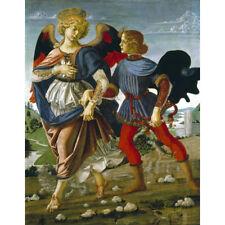 Tobias e l'angelo-Verrocchio ha stampa