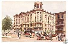 POSTCARD POLAND WARSAW HOTEL BRISTOL COLOR