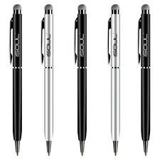 Universal Mobile Phone Ball Point Pen Touch Screen Stylus Set 50 Ballpoint Pens