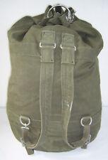 Original Bundeswehr Duffle Bags, Duffel Bag with Eyelets Backpack + U-Lock