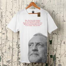 Montant Like Lions Jeremy Corbyn Élection Travail Jezza X Logo T-Shirt Jusqu'à