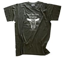 East New York Brooklyn-proxenetamás criminal delincuencia mafia Gang t-shirt S-XXXL