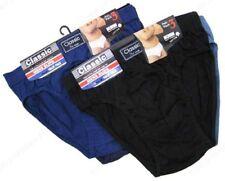 12X para Hombre Clásico Poli Algodón Slips Calzoncillos Hipsters pantalones cómodos todos los tamaños