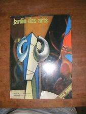 Jardin des arts N°197 MAX ERNST FAUSSAIRES BRONZE DORE BOUCHER TROMPE L'OEIL