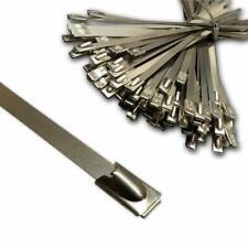 S304 STAINLESS STEEL METAL SELF-LOCKING CABLE TIES ZIP WRAP EXHAUST