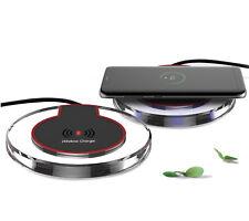 Qi Ricarica Caricabatteria Wireless + Adattatore per Huawei P20 / Lite / Pro