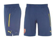 Puma Arsenal London Trasferta Away Pantaloni 14 2015 tutte le taglie Giallo Blu