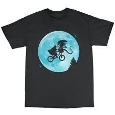 Extra Terrestial Vs Aliens Parody T-Shirt 100% Premium Cotton Phone Home