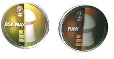 Your choice 2 tins BSA MAX / FURY 22 5.5mm heavy weight air rifle pistol pellets