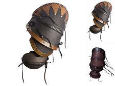 Epic Armoury LARP-Leder-Armschienen Ork Brute Paar Lederarmschienen Lederrüstung