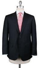 New $3600 Sartorio Napoli Midnight Navy Blue Slid Suit - (UA200S512901C6)