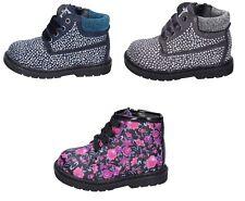 ASSO scarpe bambina stivaletti polacchini blu grigio camoscio strass rosa  pelle 77e7f0f5447