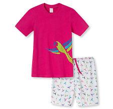 SCHIESSER Mädchen Schlafanzug Pyjama kurz in pink Gr. 140 152 164 176 NEU