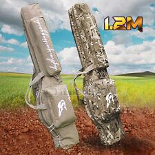 1.2m Hunting Shooting Carry Case Shotgun Rifle Gun Slip Double Bag