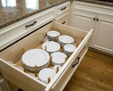 Cucina faggio Peg Board 600-1200 mm cassetto cassetti per piastra Stack, 450 profondità stoviglie