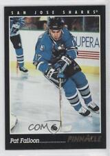 1993-94 Pinnacle #20 Pat Falloon San Jose Sharks Hockey Card