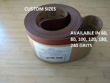 Pad sander belts, Abrasive Belts, Sandpaper, Made to Measure. Custom Belts