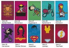 Oyster Travel Card Buss Pass ID Phone Sticker Marvel DC Heros Batman Superman