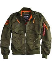 Alpha Industries Jacke Falcon II 156109 Sagegreen Bomberjacke Fliegerjacke #6162