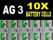 Ag3 G3 Lr41 392 Sr41 Reloj Celular Batería moneda células baterías alcalinas Reino Unido B4 + libre