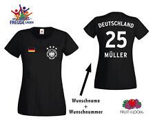 WM 2018 Maglia Germania T-shirt 4 STELLE STEMMA + NOME A SCELTA + RICHIESTA