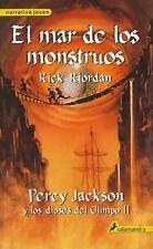 El Mar De Los Monstruos / The Sea of Monsters (Percy Jackson y Los Dioses del Ol