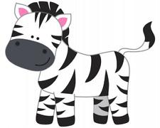 Zebra Aufkleber Sticker Autoaufkleber Scheibenaufkleber
