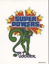 DC SUPER POWERS PRINT - RIDDLER