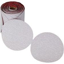 "Carborundum Premier Red Sandpaper PSA Sanding Disc  6""  120 Grit 100 Per Roll"