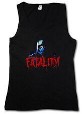 VINTAGE SUB-ZERO FATALITY TANK TOP GYM VEST - Scorpion MK Raiden Mortal Kombat