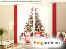 Fotogardinen Weihnachten, Schiebegardinen, Maßanfertigung