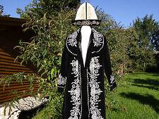 Trachtenmantel aus Kirgisien Mantel Morgenmantel Karneval Kostüm Larp Chapan RPC