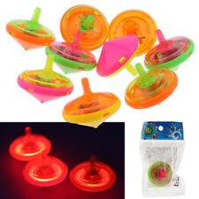 3/6/12 Kreisel LED Lichteffekt Leuchtend Spinning Bunt Mitgebsel 4,5 cm Beutel